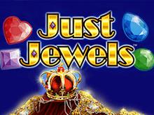 Just Jewels на зеркале клуба